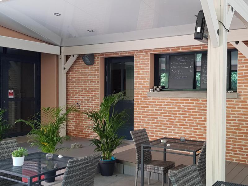 Abri de terrasse restaurant - Crealodge