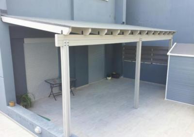 Auvent - avancée de toit - Crealodge
