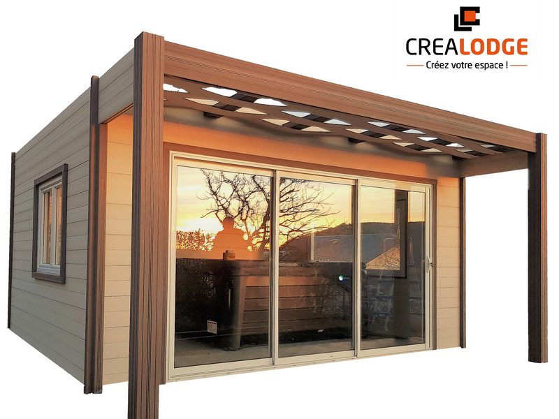 Structure modulaire - Crealodge