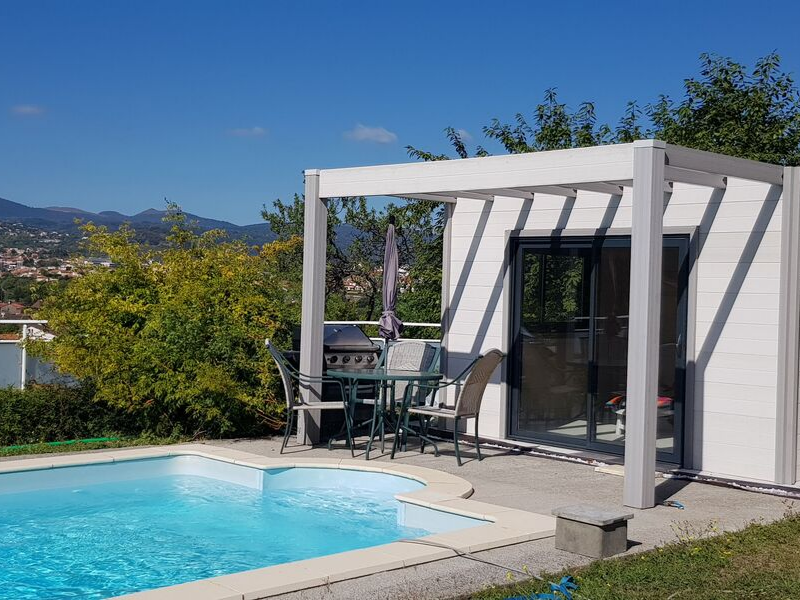 Structure modulaire - Pool House