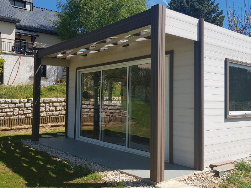 Structure modulaire isolée Crealodge